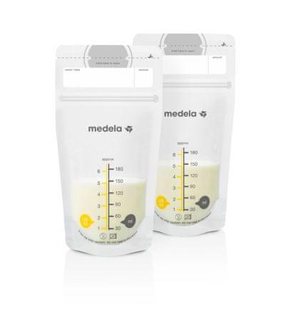 Medela Vrecká na skladovanie mlieka, 180 ml - bal. 50 ks