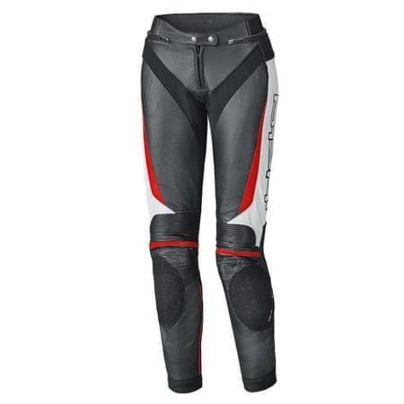 960240e98 dámske kožené nohavice na motorku LANE 2 vel.36 čierna/biela/červená ...