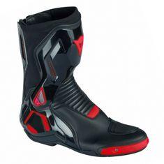 Dainese moto boty COURSE D1 OUT černá/fluo-červená