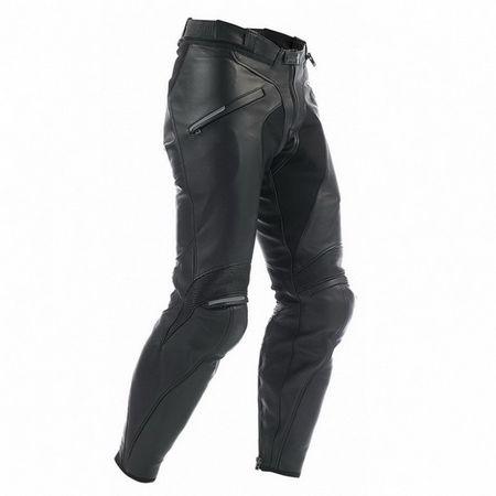 Dainese pánske nohavice na moto ALIEN veľ.46, čierne, koža