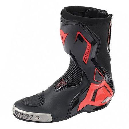 Dainese športové moto topánky TORQUE D1 OUT čierna/fluo červená, vel.40