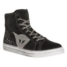 Dainese kotníkové skútr boty STREET BIKER AIR černá/antracitové logo