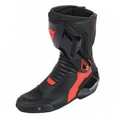 Dainese moto boty NEXUS černá/fluo červená