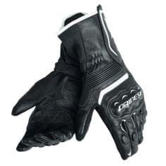 Dainese pánské rukavice na motorku  ASSEN černá/bílá