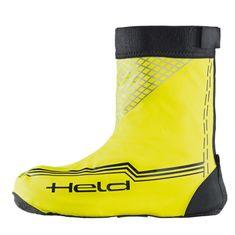Held nepremokavé návleky na topánky po členky, fluo žltá
