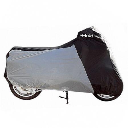 Held nepremokavá horkuvzdorná plachta na motorku vel.3XL, čierna/sivá