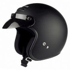 Held motocyklová prilba  RUNE, matná čierna