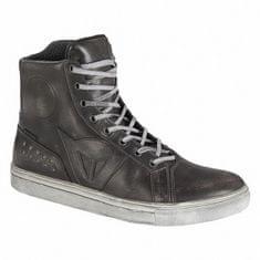 Dainese dámske členkové kožené moto topánky STREET ROCKER D-WP LADY čierna