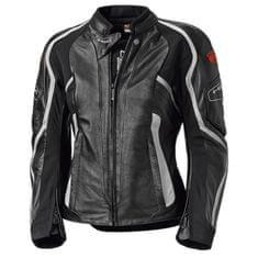 Held dámska kožená bunda na motorku Namik čierna/biela