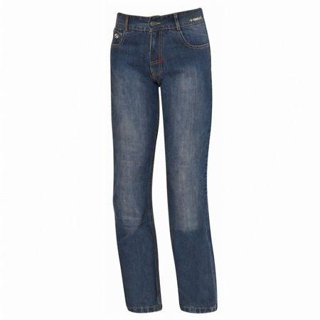 Held pánske moto kevlarové jeansy Crackerjack (dĺžka 32) modré