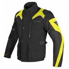 Dainese pánska enduro moto bunda  TEMPEST D-DRY čierna/čierna/fluo žltá, textilné