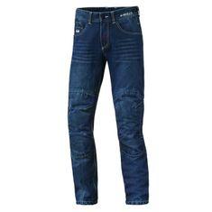 Held pánske moto kevlarové jeans BARRIER (dĺžka 34) modré
