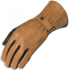 Held kožené rukavice CLASSIC hnedej, koža (pár)