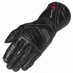 Held kožené motocyklové rukavice SPARROW, černé (pár)