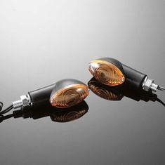 Highway-Hawk moto blinkre CATEYE malé, čierna (2ks)