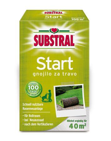 Substral start gnojilo za travo, 0,8 kg, 40 m2