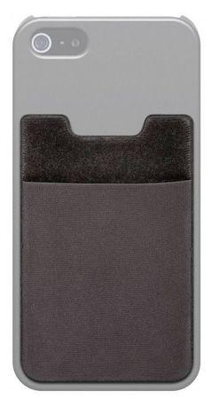 Goobay samolepilni žepek za shranjevanje kartic na pametnem telefonu