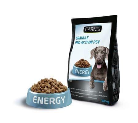 Carnis Granulátum aktív kutyáknak 10 kg