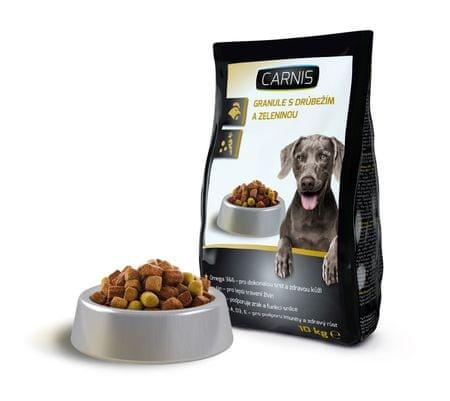 Carnis Granuly pre psy hydinové 10kg