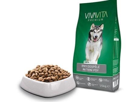 Vivavita Granulátum aktív kutyáknak 15 kg