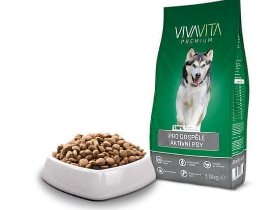 Vivavita Granuly pre aktívne psy 15kg