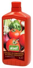 Asef Asef tekuće mineralno gnojivo za rajčice i povrće, 1000 ml