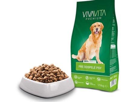 Vivavita Granulátum felnőtt kutyáknak 15 kg