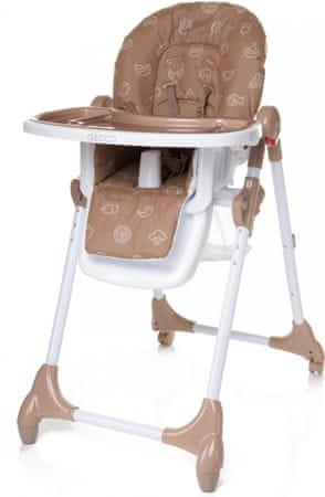 4Baby Židlička Decco hnědá