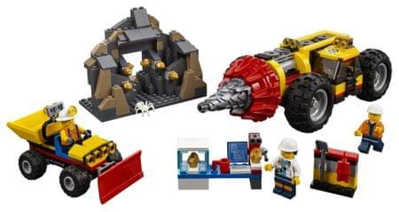 LEGO City Mining 60186 Nehéz bányafúró