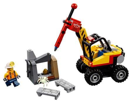 LEGO LEGO City Mining 60185 Rudarski cepilnik - Odprta embalaža