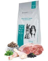 Starvita Száraz kutyatáp, nagy testalkatú felnőtt kutyáknak 12kg