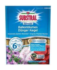 Substral tablete za gnojenje Osmocote za balkonske biljke, 25 komada