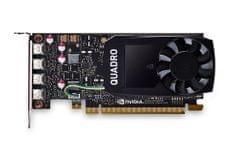 PNY grafička kartica NVIDIA Quadro P1000 DVI 4GB GDDR5,PCIe 3.0 x16, 4x mDP - DVI-D, Low Profile