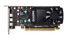 PNY grafička kartica NVIDIA Quadro P400 DVI 2GB GDDR5, PCIe 3.0 x16, 3xmDP, LP (VCQP400DVI-PB)