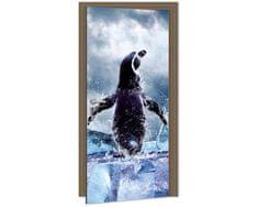 Dimex Fototapeta na dvere DL-059 Tučniak 95 x 210 cm