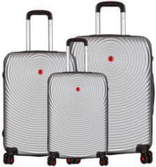 Sirocco zestaw walizek T-1157/3 ABS