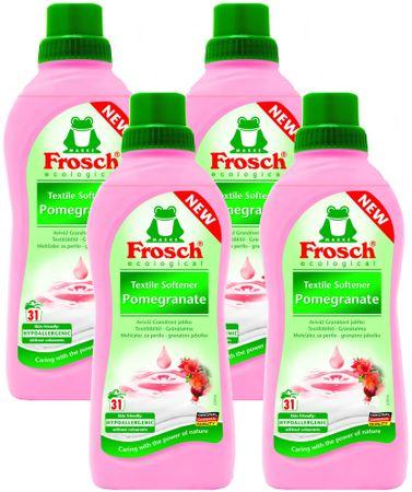 Frosch Öko Hipoallergén öblítőszer Gránátalma 4 x 750 ml