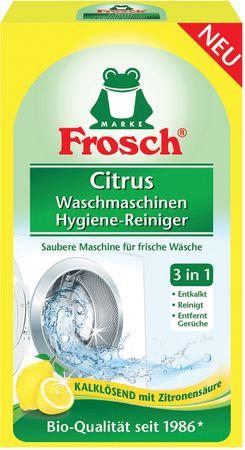 Frosch Öko Higiénikus mosógép tisztító Citrom 250 g