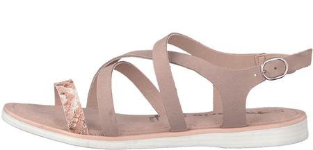 a0c37a4dc4 Tamaris dámské sandály 36 ružová