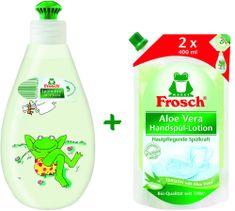 Frosch Öko Mosogatószer Aloe Vera 400 + 800 ml