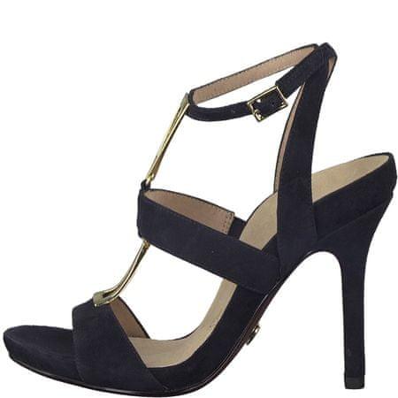 Tamaris ženski sandali Lauriane, temno modri, 40