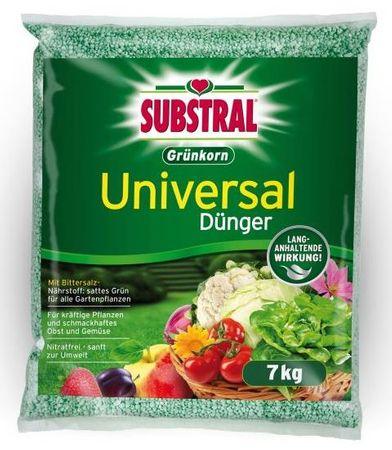 Substral univerzalno gnojivo za vrt Grünkorn, 7 kg, 100 m2