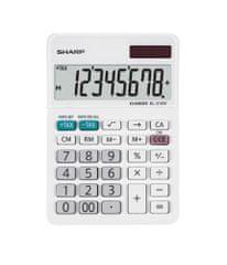Sharp kalkulator EL310W, namizni, 8-mestni