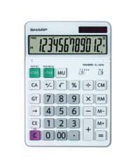 Sharp kalkulator EL340W, namizni, 12-mestni