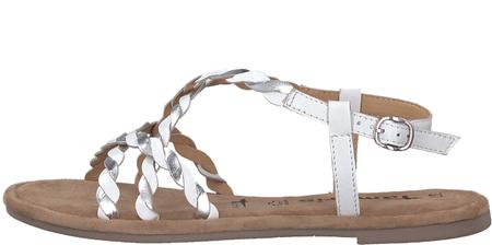 16427ad1c43c Tamaris dámské sandály Milos 36 biela