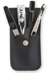 Kellermann set za manikuro 56772 MC N, umetno usnje, črn