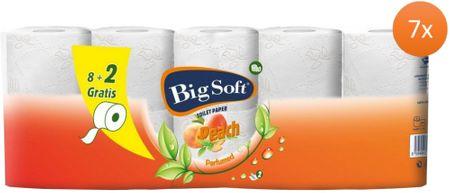 Big Soft Barack WC - papír 2 rétegű 7 x 10 tekercs
