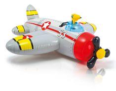 Intex napihljivo letalo - sivo