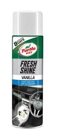 Turtle Wax spray za čiščenje armaturne plošče z vonjem vanilije Fresh Shine Cockpit