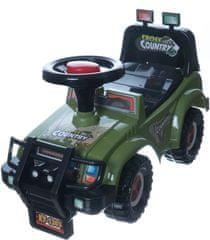 Teddies Autó Cross country bebitaxi,katonai khaki zöld